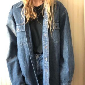 an L.L. Bean jean jacket